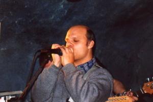 První vystoupení Opůlpáté Blues a asi i moje první veřejné vystoupení s harmonikou