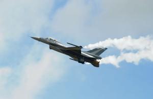 F-16 po úpravách z RAWu