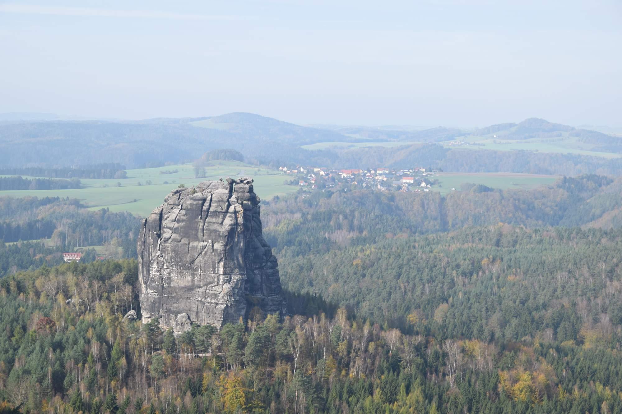 Výhled z Falkensteinu